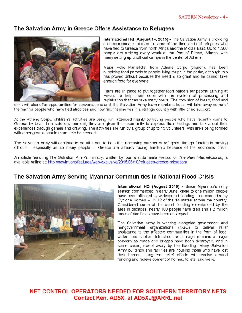Newsletter - 2015-8-15 Page 4