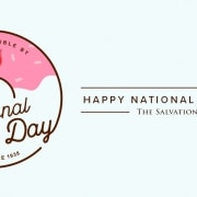 national doughnut donut day