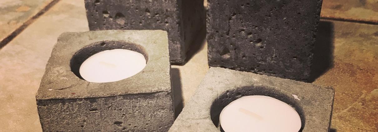 outdoor lighting stone