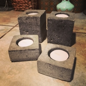 outdoor lighting stone