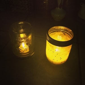 outdoor lighting mason jar
