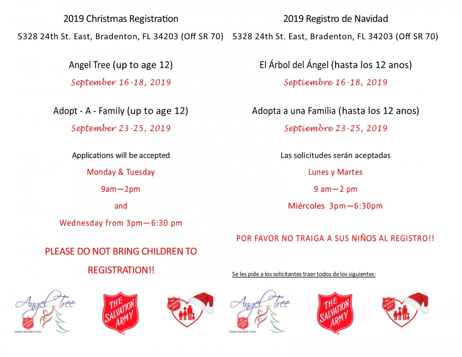 Manatee County - The Salvation Army | Florida Division